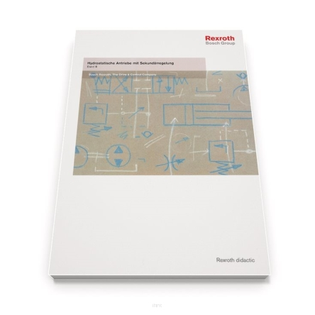 Hydraulics Trainer. Hydrostatic Drives with Control of the Secondary Unit – Volume 6